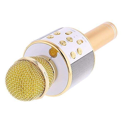 Generic WS-858 Wireless MIC with inbuilt Speaker and Bluetooth...