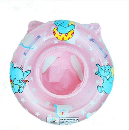 YL historia de natación para bebé de dibujos animados elefante seguridad ayuda Float Asiento Anillo, Infantil, rosa