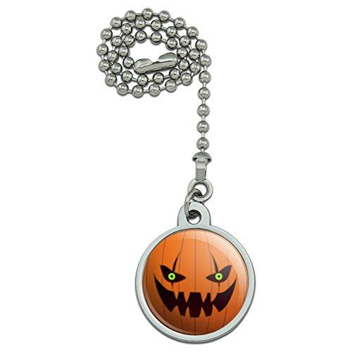 (Graphics and More Jack O 'Lantern Kürbis Gesicht Halloween Dekoration Deckenventilator und Licht Pull Kette)