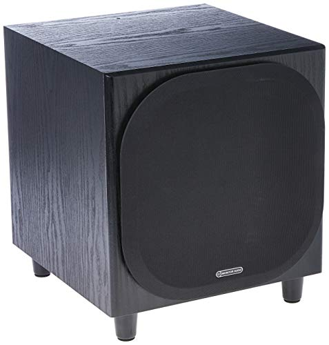 Monitor Audio Bronze W10 Black Oak - Caisson graves