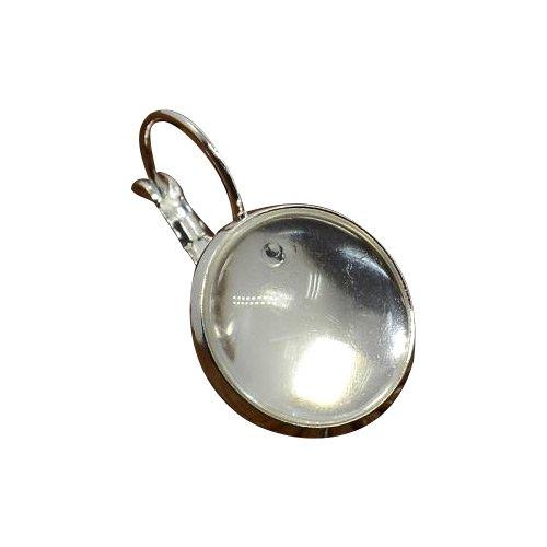 pandahall-10-set-cabochon-vetro-ottone-basi-orecchini-basi-cabochon-componenti-orecchini-senza-niche