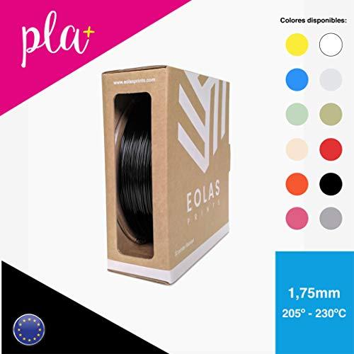 EOLAS Filamento impresión 3D 100% PLA+ 1.75mm, Made in...