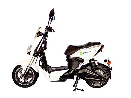 GinkGo R1 Elektroroller mit Straßenzulassung - Zweisitzer - 45 km/h - bis zu 120 km - herausnehmbarer Lithium Ionen Akku - weiß*