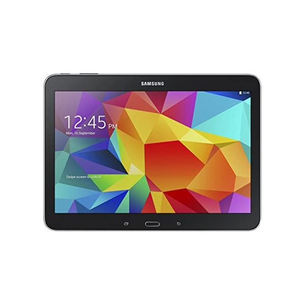 Samsung Galaxy Tab 4 10.1-inch Tablet (Black) – (Quad Core 1.2GHz, 1.5GB RAM, 16GB Storage, Wi-Fi, Bluetooth, 2x Camera, Android 4.4) 41s8CiSLT3L