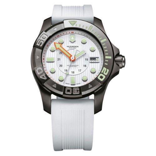 Victorinox Swiss Army Herren-Armbanduhr XL Professional Dive Master Analog Quarz Kautschuk 241559 (Master Swiss Victorinox Dive Army)