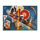 Im Blau, c.1925 Art Poster Print by Wassily Kandinsky, 51x41