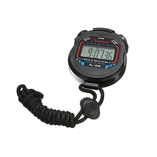 Newin Star timer cronometro sport multi-funzione elettronica digitale cronografo batterie (incluse)