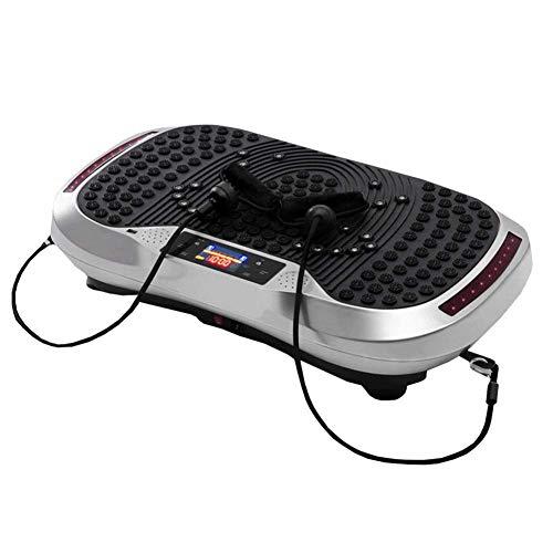 QNJM Vibrationsplatte, Oszillations-Technologie for Den Heimgebrauch - Vibrationsmaschine, Fitness-Vibrationsmaschine, Oszillierende Plattform (Color : A)