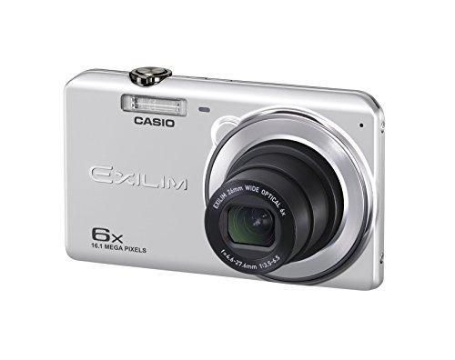 CASIO digital camera EXILIM EX-ZS28SR wide-angle 26mm optical 6x zoom premium auto 16.1 million pixel Silver