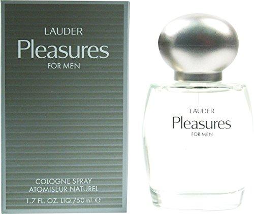 Estee Lauder Pleasures 50ml Eau de Cologne spray essenza per lui con sacchetto regalo