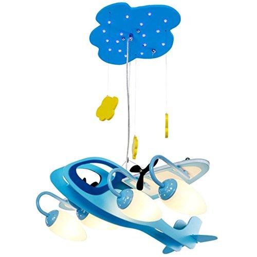 ZHANWEI Pendelleuchte LED-Augenpflege Kinderzimmer Deckenleuchten Kreative Cartoon Jungen Schlafzimmer Zimmer Lampen und Laternen LED Moderne Deckenleuchten Hängeleuchte -