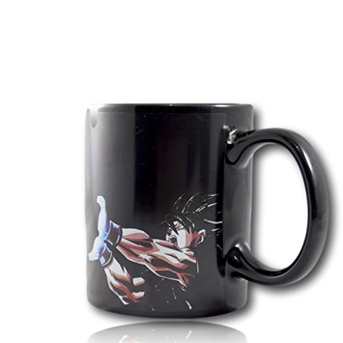 Magic Mugs Dragon Ball Z Color Changing Goku Kamehameha Coffee Mug Heat Reactive Mug DBZ by Dragon...
