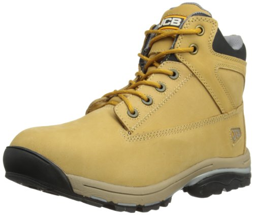 JCB Men's Work Max/H Chukka Boots, Honey, 9 UK
