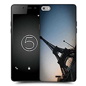 Snoogg Street Along The Towar Designer Protective Phone Back Case Cover for Micromax Canvas Silver 5