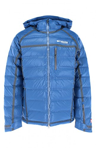 Columbia Outdry Ex Diamond Down Snowboard Jacket X Large Night Tide (Down Snowboard Jacket)