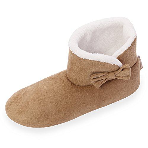 chaussons-bottillons-femme-isotoner-37-38