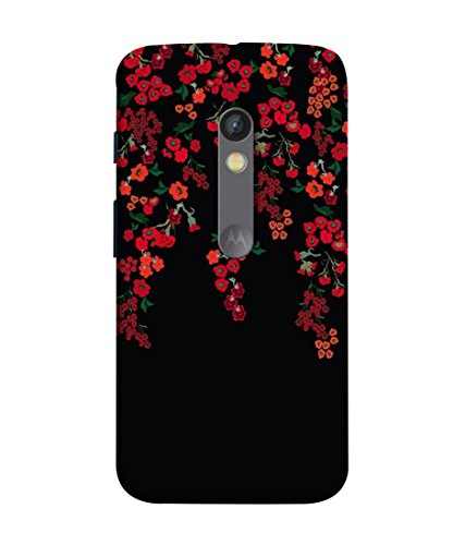 Inktree Designer Printed Soft Silicone Back Case Cover for Motorola Moto X Play