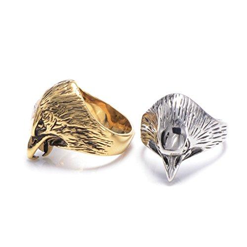 mens-316l-stainless-steel-vintage-eagle-ring-silver-gothic-vintage-biker-size-r-1-2