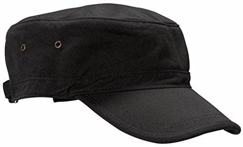 econscious 100% Organic Cotton Twill verstellbar Corps Hat Einheitsgröße schwarz (Usa Armee Kleidung)