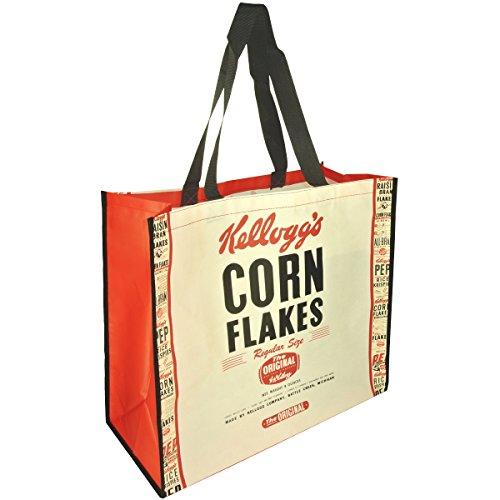 Promobo - Sac Cabas Pour Courses Shopping Licence Kellogg's Corn Flake Original