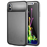 Apple iPhone X Battery pack case charger cover 3200 mAh - Black