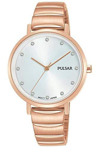 Pulsar ladies orologio Donna Analogico Al quarzo con cinturino in Acciaio INOX placcato PH8408X1
