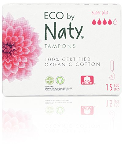 Plus Tampons (Naty Digital Super Plus Tampons, 15tlg)