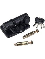 Master Lock 8287 - Anclaje para pared y suelo, color negro