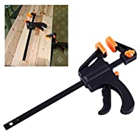XingYue Direct F-Clamp Grip Woodworking Clip Quick Grip wood working Clamp Clip Adjustable Wood Carpenter Tool 4 inch