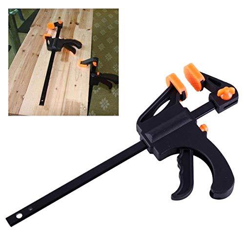 XingYue Direct F-Clamp Grip Clip para carpintería Agarre rápido para Trabajo en Madera Clamp Clip Ajustable Wood Carpenter Tool 4 Pulgadas
