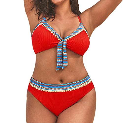 de Mujer Verano bañadores Mujer 2019 Deportivos brasileño Biquinis Push-up de Playa Mono Mujer 2019 Bikini Mujer con Relleno Conjunto Rayas Traje de baño bañador 2019 Bikinis Mujer brasileño