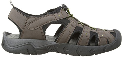 Gola - Shingle 2, Scarpe outdoor multisport da uomo Marrone (Dark Brown/Black/Sun)