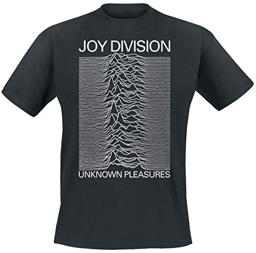 Joy Division Unknown Pleasures Camiseta Negro XXL