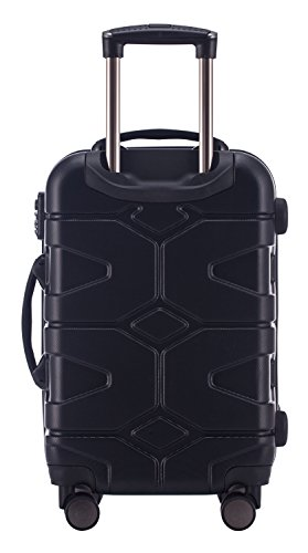 HAUPTSTADTKOFFER - X-Kölln - Handgepäck Hartschalen-Koffer Trolley Rollkoffer Reisekoffer, TSA, 55 cm, 50 Liter, Camouflage matt - 3