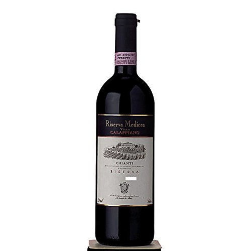 Chianti-wein-flasche (6 Flaschen Chianti Riserva Villa Calappiano, DOCG, rot a 750ml Italien Rotwein)