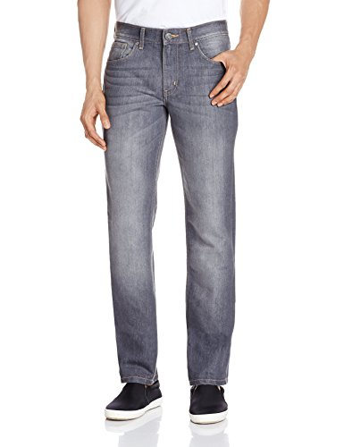 Newport Men's Slim Fit Jeans (8907242843988_267942435_32W x 34L_Grey Dark Stone)  available at amazon for Rs.699