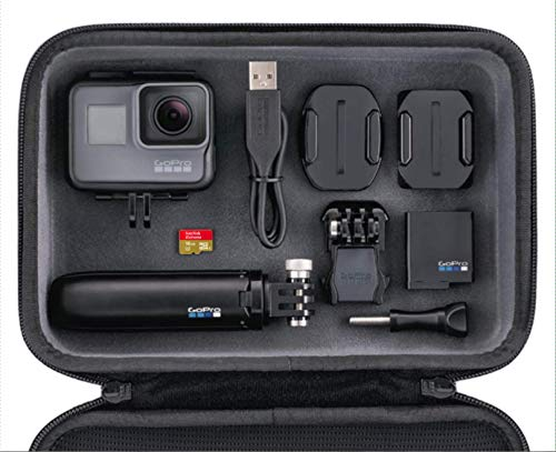 GoPro HERO5 Action Camera Bundle (Includes Casey, Shorty + 16 GB Memory Card) - Black