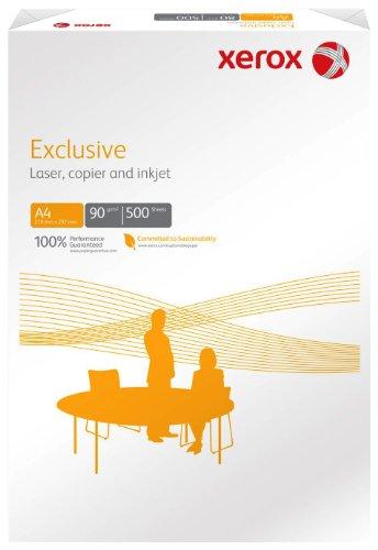 Xerox 003R90618 Exclusive Kopier-/Druckerpapier, DIN A3, 90 g/m², 500 Blatt, weiß