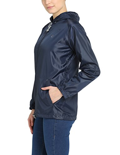Berydale Women's Bd316 Waterproof Jacket, (Navy)