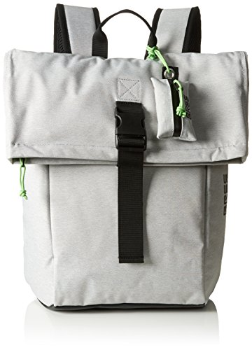 BREE Unisex-Erwachsene Punch 92, Backpack Small S17 Rucksack, 12 x 42 x 36 cm Grau (Light Grey)