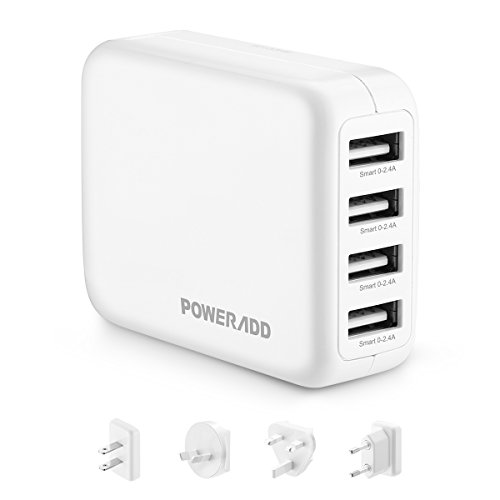 Chargeur 4 ports