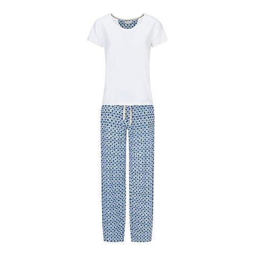 Veraluna Shibori, Ensemble de Pyjama Femme Bleu (Atlantique)