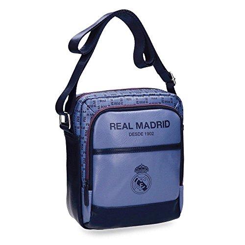 Real Madrid Blue RM Bolso Bandolera