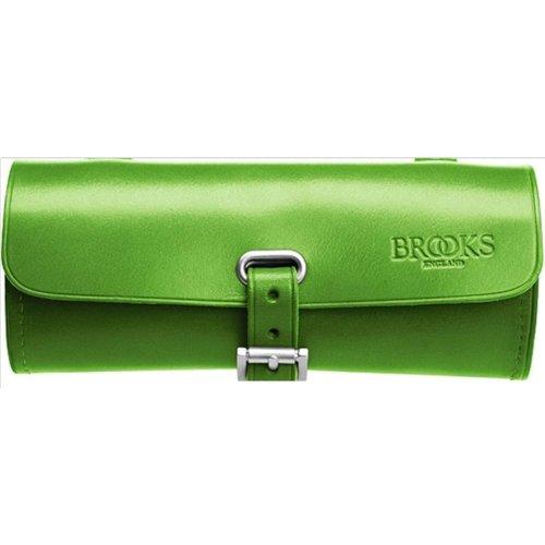 Brooks Challenge Tool Bag Leder Satteltasche Werkzeug Tasche, Challenge Tool Bag Apfelgrün