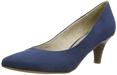 Tamaris 1-1-22415-22 Damen Pumps, Blau (DARK DENIM 804), EU 38