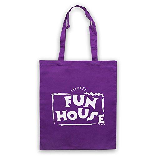 Inspiriert durch Fun House Contestant TV Show Inoffiziell Umhangetaschen Violett