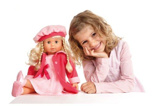 Puppen & Zubehör Bayer Design 94635 46cm Charlene Funktionspuppe mit Haaren und Schlafaugen günstig kaufen