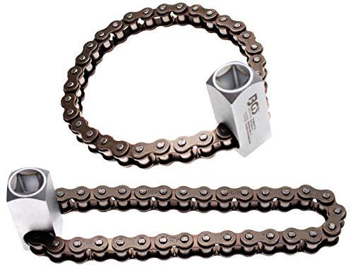 'BGS chiave a catena'Super, 12,5, 65A 115mm per filtro dell' olio, 1/2pollici, 1033