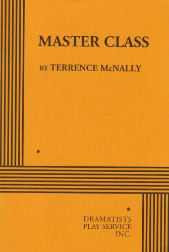 Master Class (Acting Edition for Theater Productions) por Terrence McNally