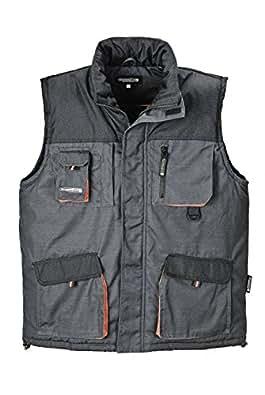 Terratrend Job 4300-3XL-6310 Gilet pour Homme Taille 3XL Gris Foncé/Noir